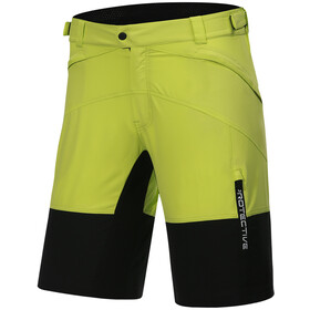 Protective P-Bounce Cycling Shorts Men, lime
